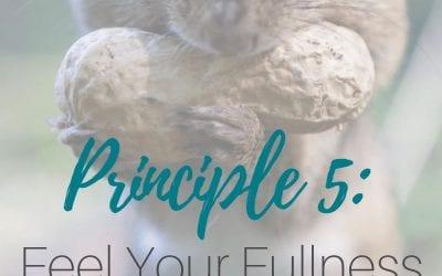 Principle 5: Feel Your Fullness